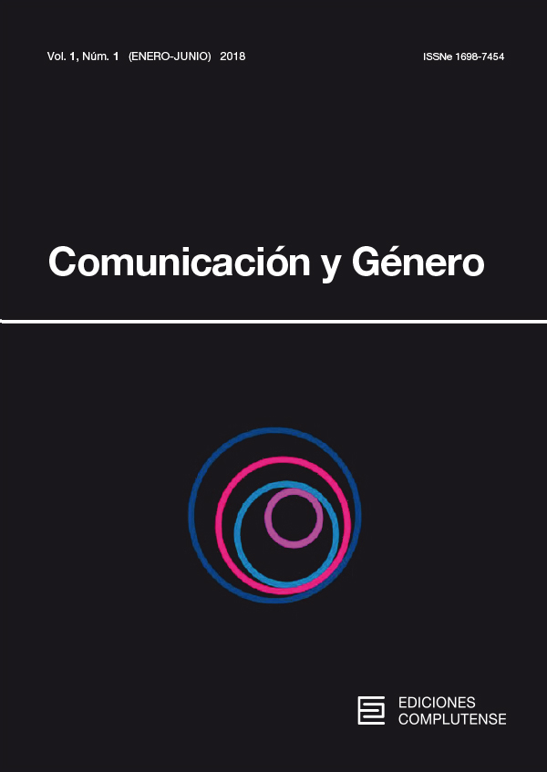 Cubierta de Comunicación y Género Vol 1, No 1 (2018)