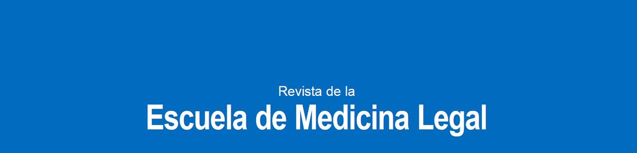 Portada de Revista de la Escuela de Medicina Legal