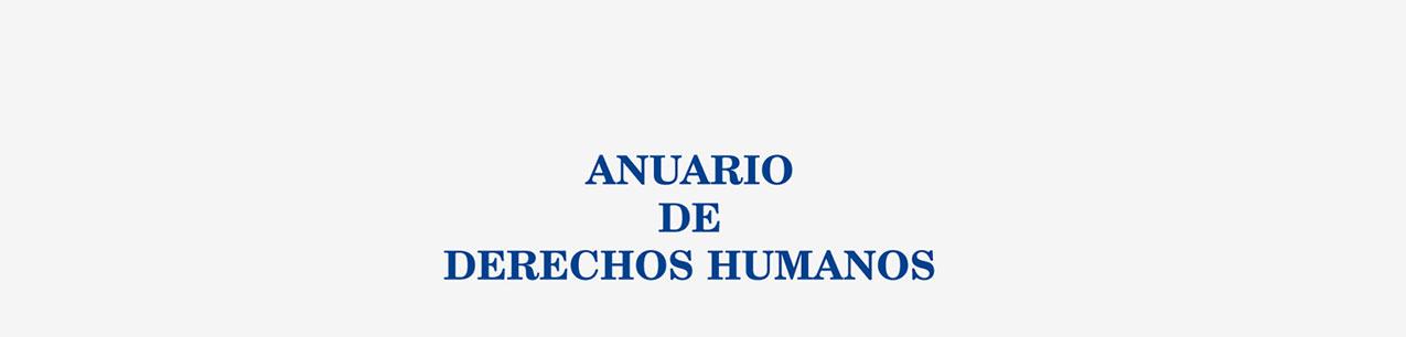 Portada de Anuario de Derechos Humanos. Nueva Época