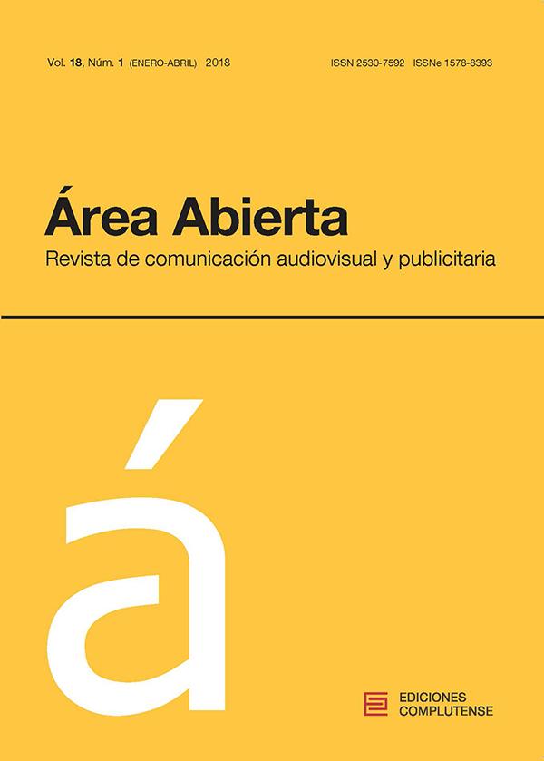 Cubierta Área Abierta, vol 18, nº1 (2018)