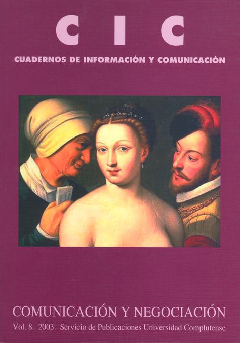 CIC Cuadernos de Información y Comunicación Vol. 2 (2003)