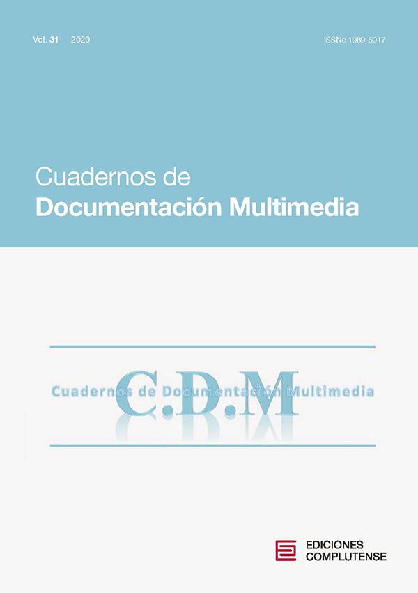 Cubierta Cuadernos de Documentación Multimedia vol 31 (2020)