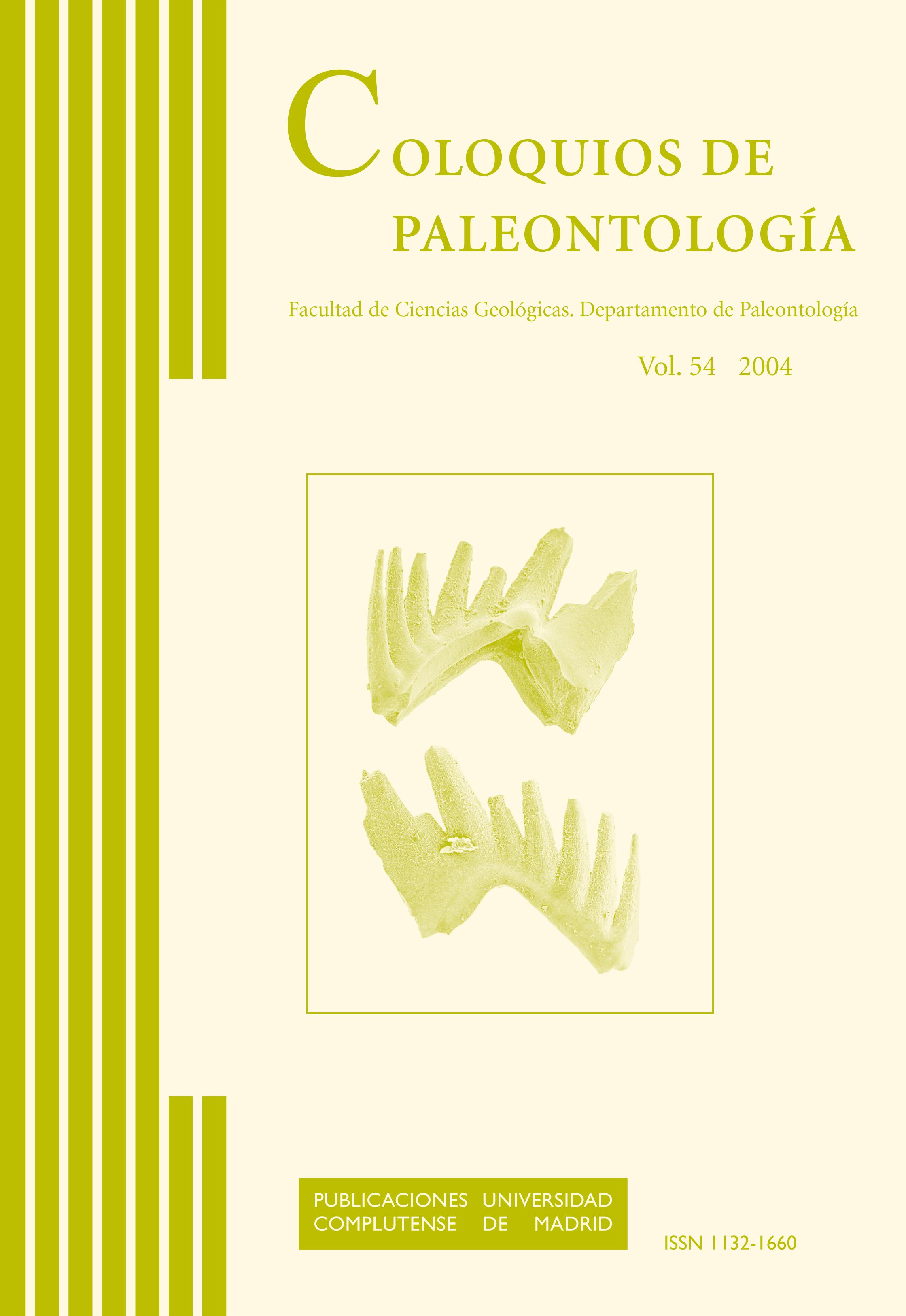 coloquios de paleontología