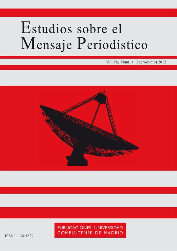 Cubierta Estudios sobre el Mensaje Periodístico