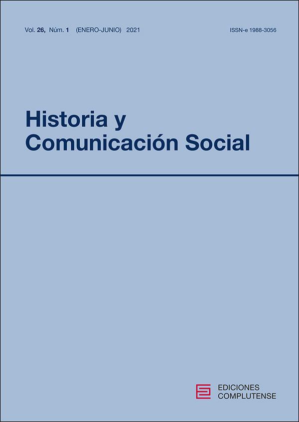cubierta Historia y Comunicación Social 26-1 (2021)