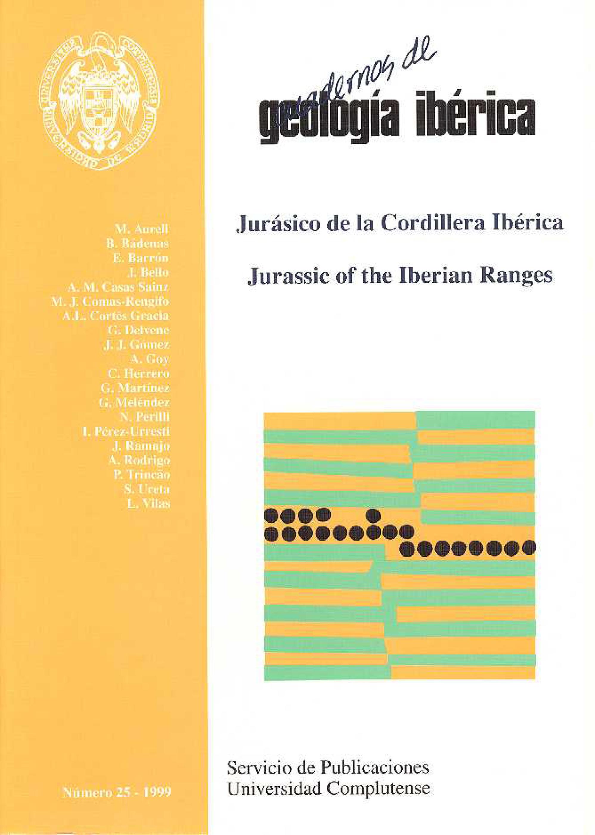 Portada de Cuadernos de Geología Ibérica
