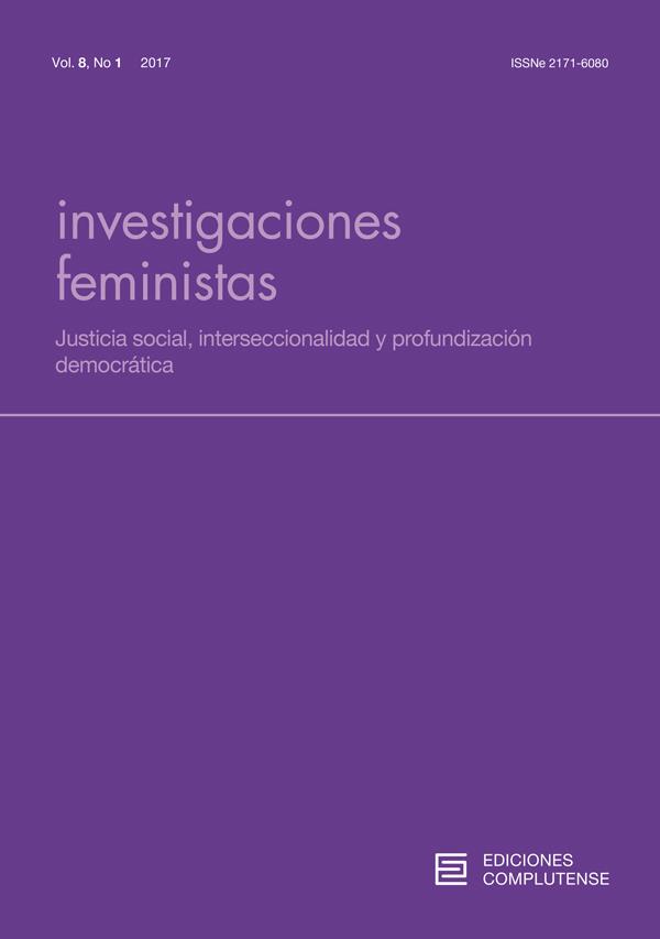 Cubierta de Investigaciones Feministas Vol 8, No 1 (2017): Monográfico: Justicia social, interseccionalidad y profundización democrática