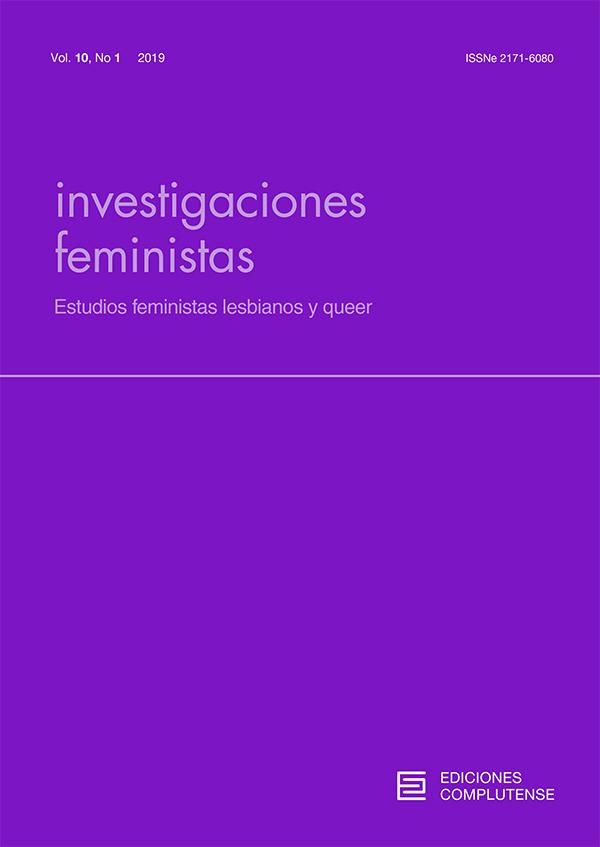 Cubierta Investigaciones Feministas vol 10-1 (2019)