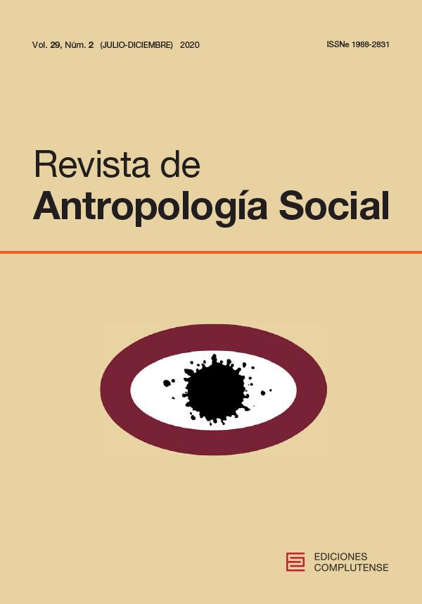 Cubierta de Revista de Antropología Social Vol. 29, Núm. 2 (2020) Procesos de movilización y demandas colectivas: aproximaciones desde la antropología política