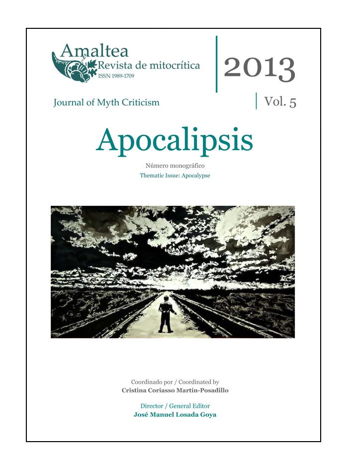 Cubierta Amaltea. Revista de mitocrítica Vol. 5  (2013) Apocalipsis / Apocalypse