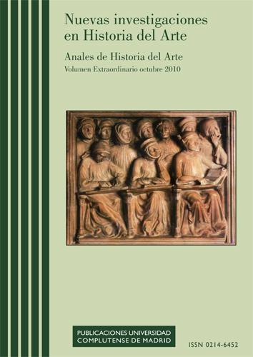 Cubierta de Anales de Historia del Arte Vol. Extra (2): Nuevas investigaciones en Historia del Arte