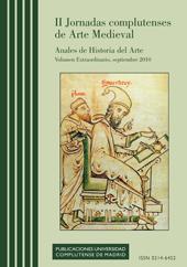 Cubierta de Anales de Historia del Arte Vol. Extra (1): II Jornadas complutenses de Arte Medieval