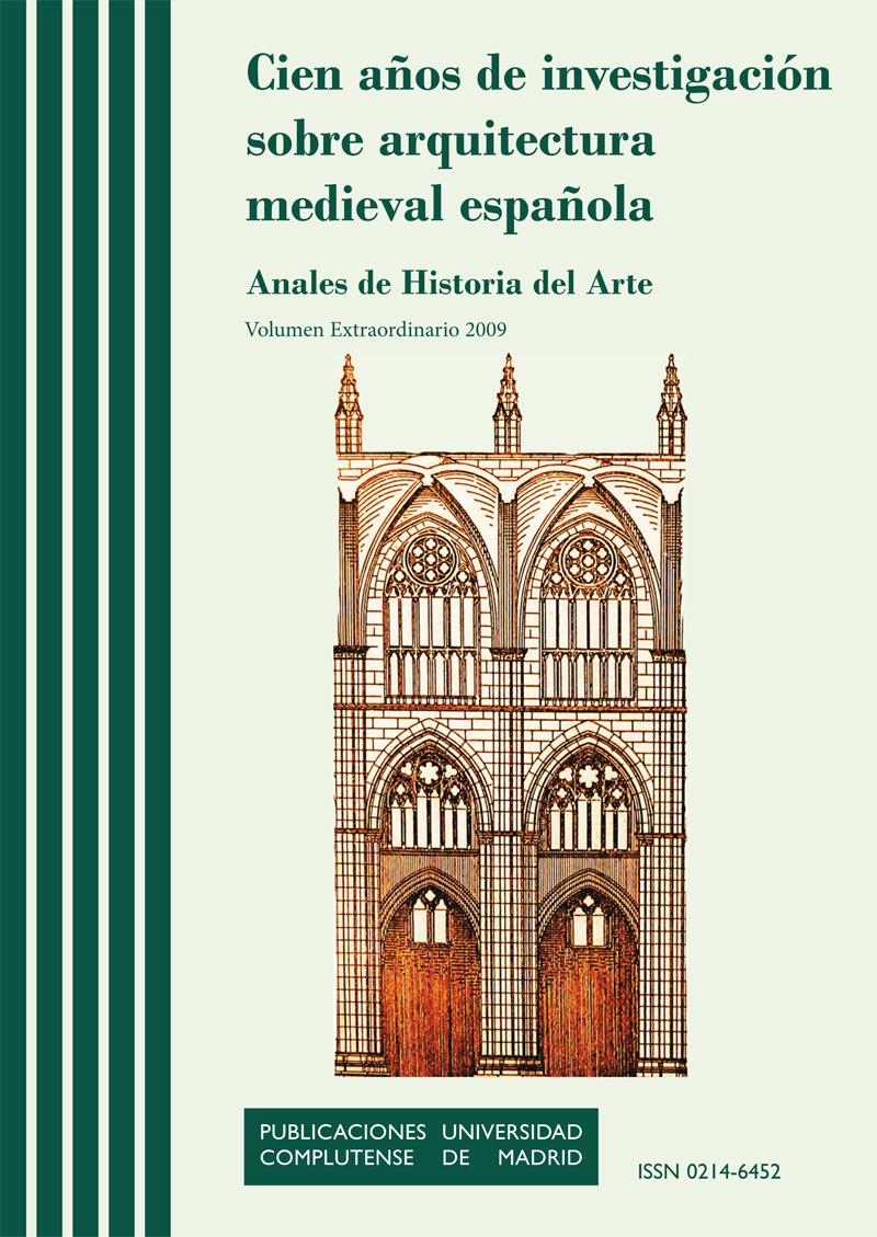 Cubierta de Anales de Historia del Arte Vol. Extra: Cien años de investigación sobre arquitectura medieval española