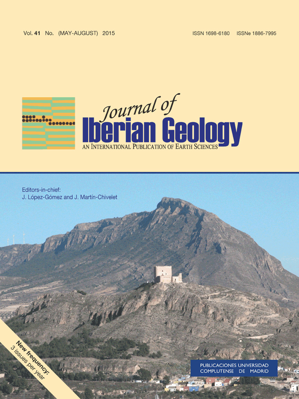 Cubierta de Journal of Iberian Geology Vol. 41 Nº 2 (2015)