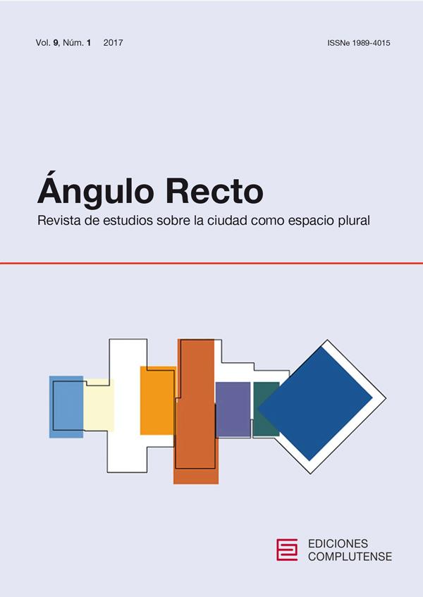 Cubierta de Ángulo Recto. Revista de estudios sobre la ciudad como espacio plural Vol. 9, Núm. 1 (2017)