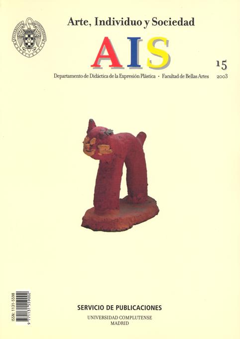 Arte, Individuo y Sociedad Vol. 15 (2003)