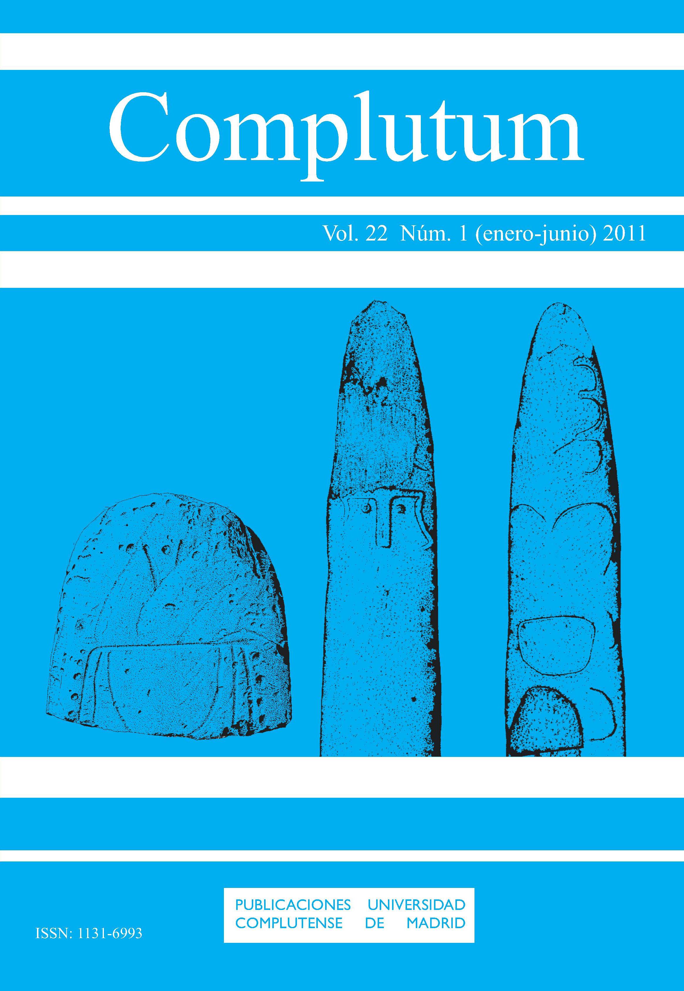 Complutum Vol. 22, Núm. 1