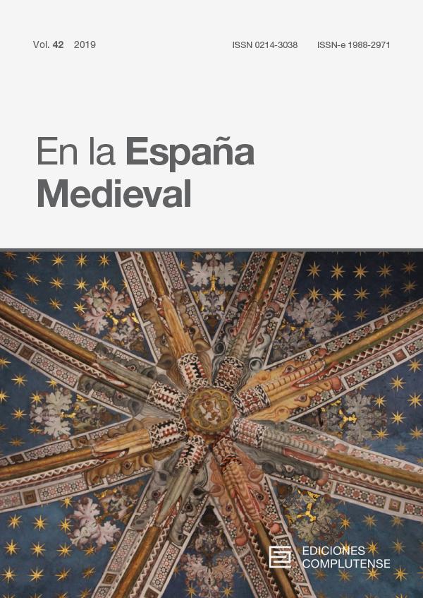 Cubierta de En la España Medieval Vol. 42 (2019)
