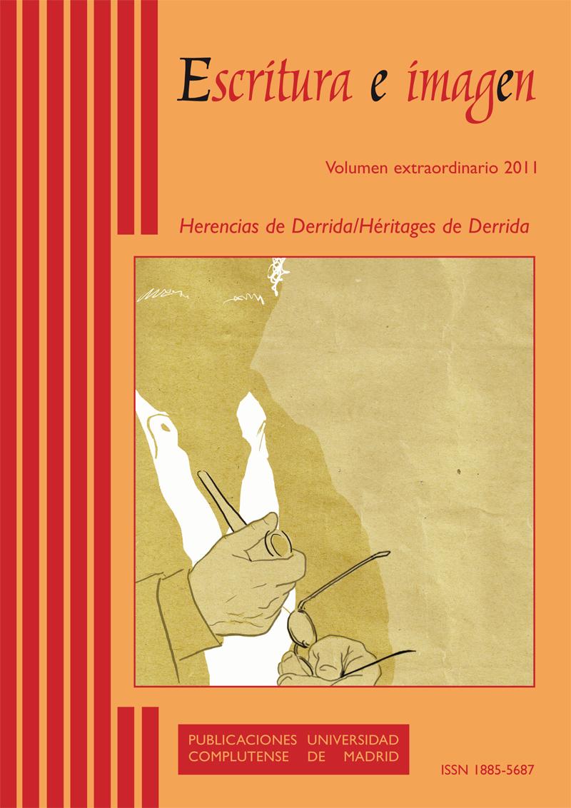 Cubierta Vol. Extra: Herencias de Derrida/Héritages de Derrida. Escritura e Imagen 2011