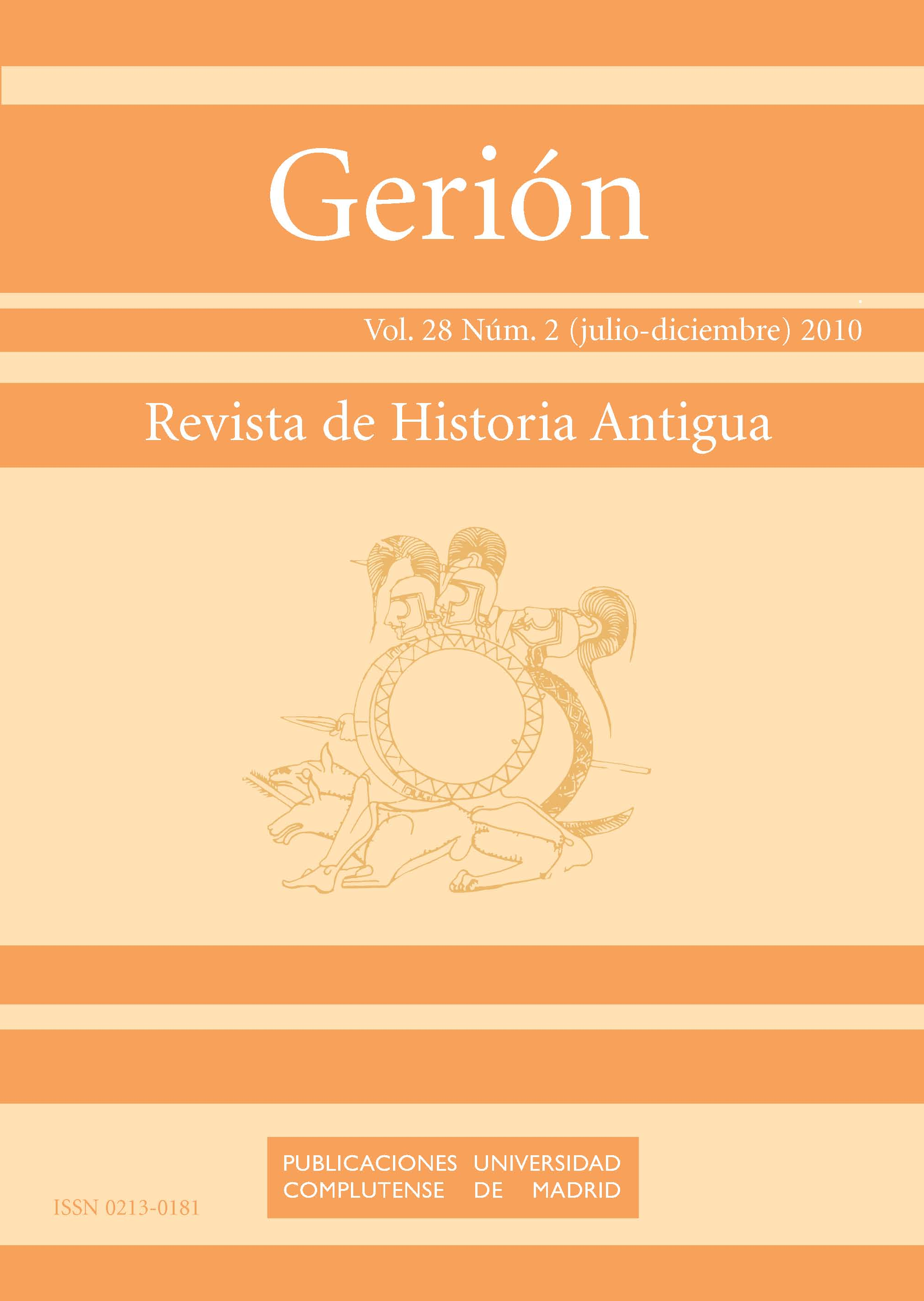 revista de historia antigua vol nm