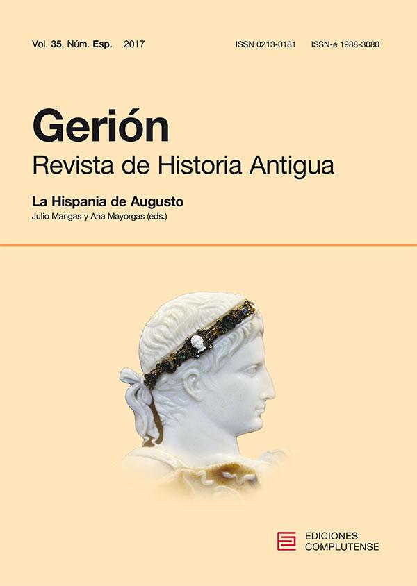 Cubierta de Gerión. Revista de Historia Antigua Vol. 35, Núm. Especial: La Hispania de Augusto