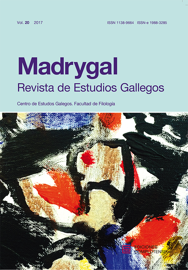 Cubierta Madrygal, vol 20 (2017)