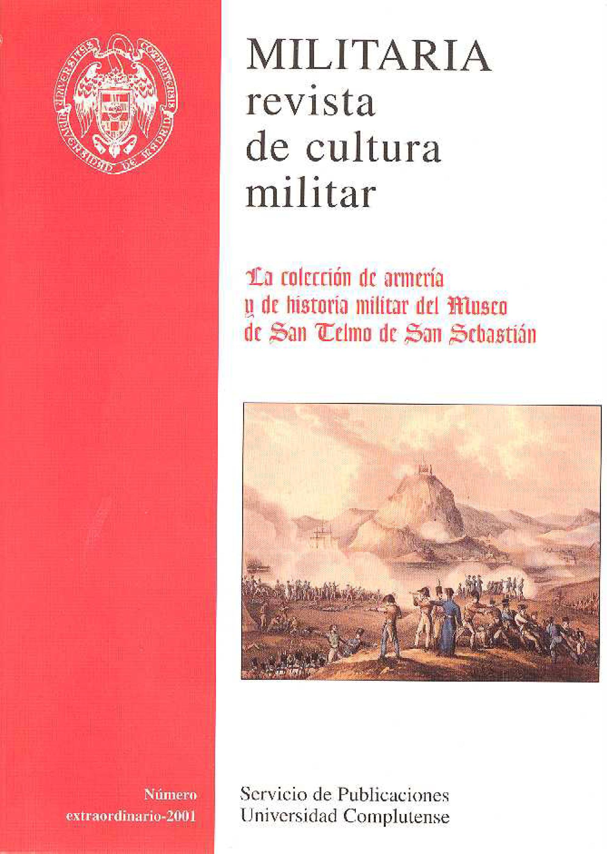 Portada de Militaria. Revista de cultura militar