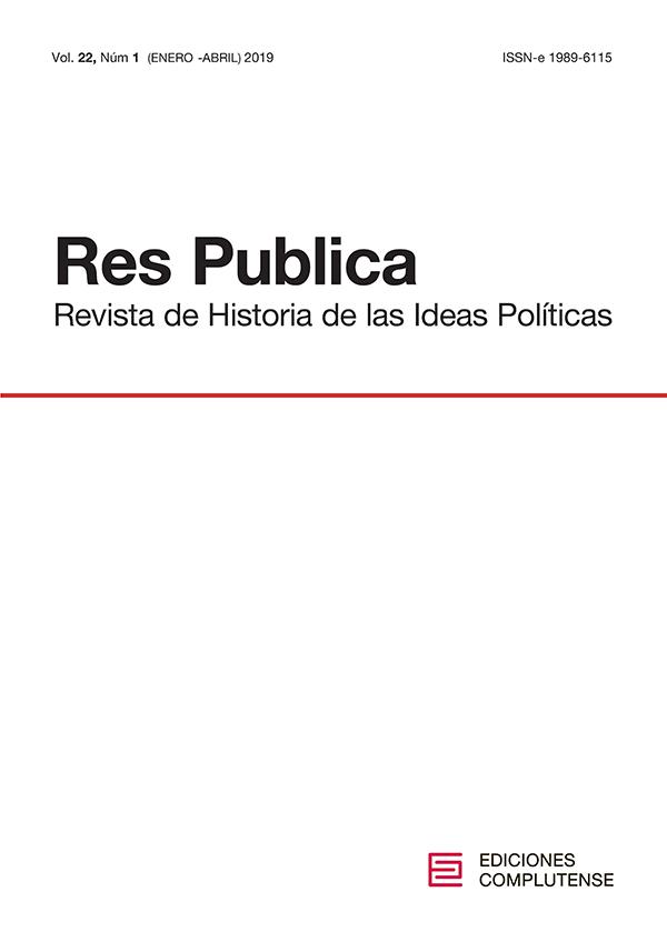 Cubierta Res Publica vol 22-1 (2019)