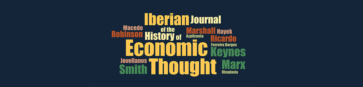 Portada de Iberian Journal of the History of Economic Thought