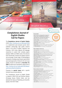 Complutense Journal of English Studies